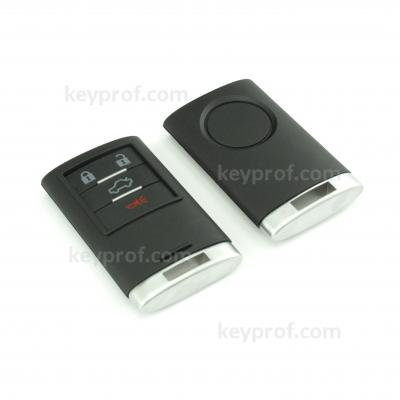 Cadillac 4-button smartkey shell