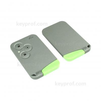 Renault 3-button smartcard shell (CR2025 battery)