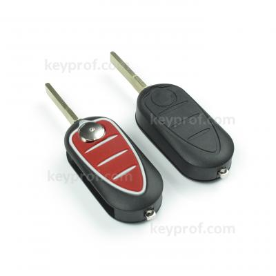 Alfa Romeo 4-button flipkey shell
